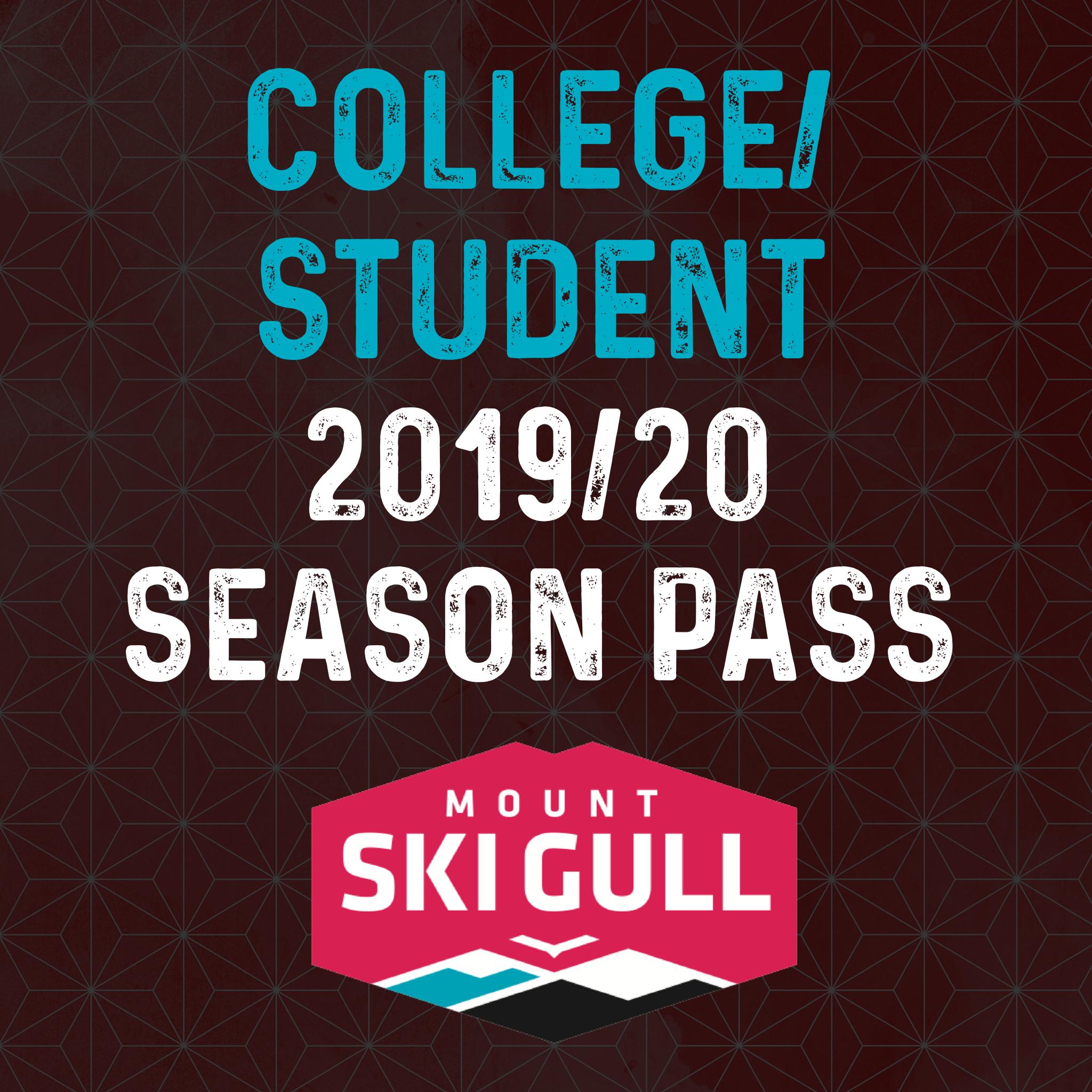 2019 - 2020 College/Student Pass