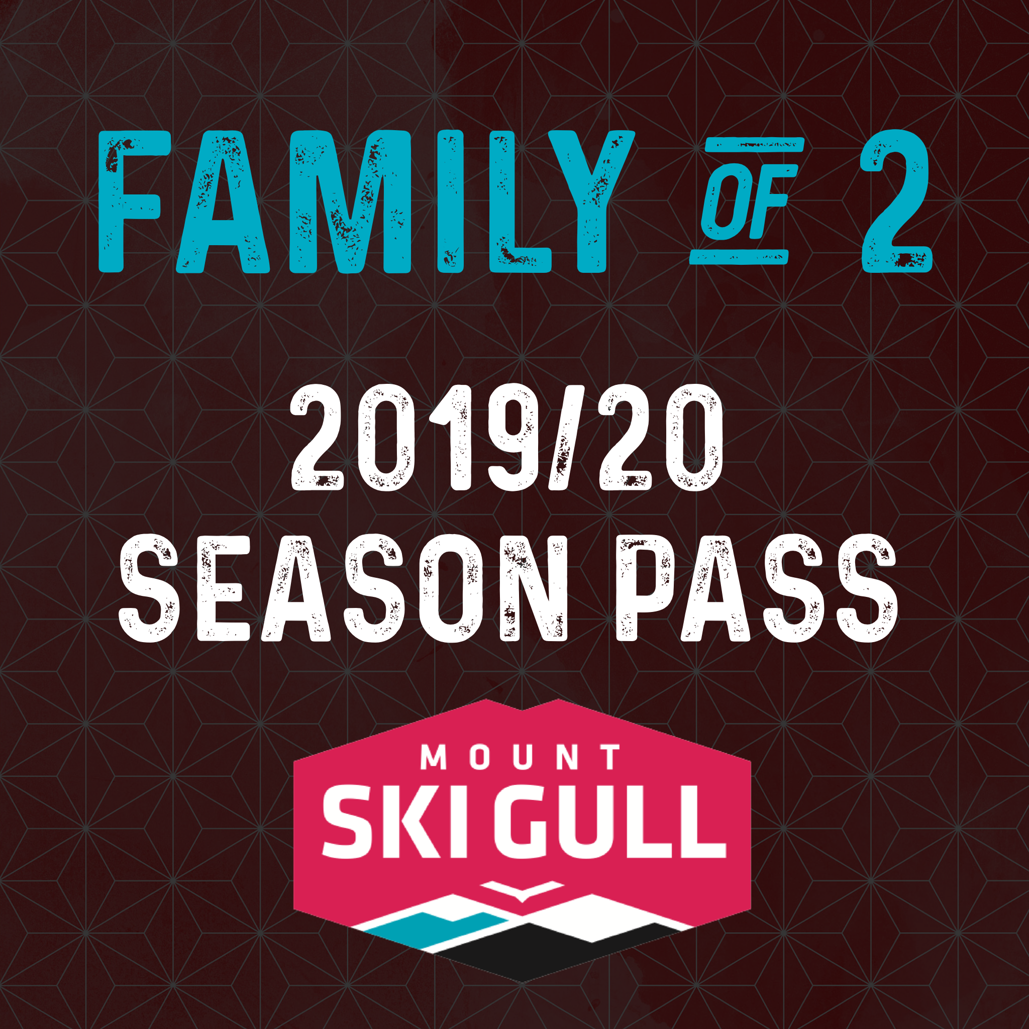 2019/20 Family of 2 Season Pass